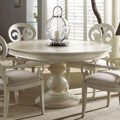 17 Classy Round Dining Table Design Ideas: Fine Furniture Design Summer Home Elegant Round Dining