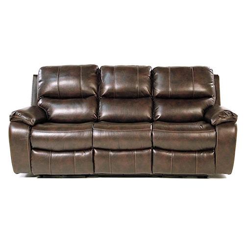 Flexsteel Furniture Uk: Flexsteel Monterey Double Reclining Power Sofa With Pillow