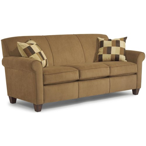 Flexsteel Dana Stationary Sofa Godby Home Furnishings