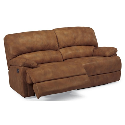 Flexsteel Latitudes Dylan Double Reclining Leather Sofa