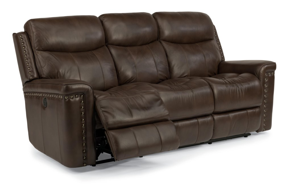 Flexsteel Reclining Sofa Reviews Flexsteel Leather Couch