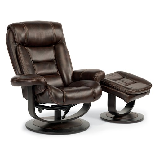 Flexsteel latitudes hunter 1454 co reclining chair and - Zero gravity recliner chair for living room ...