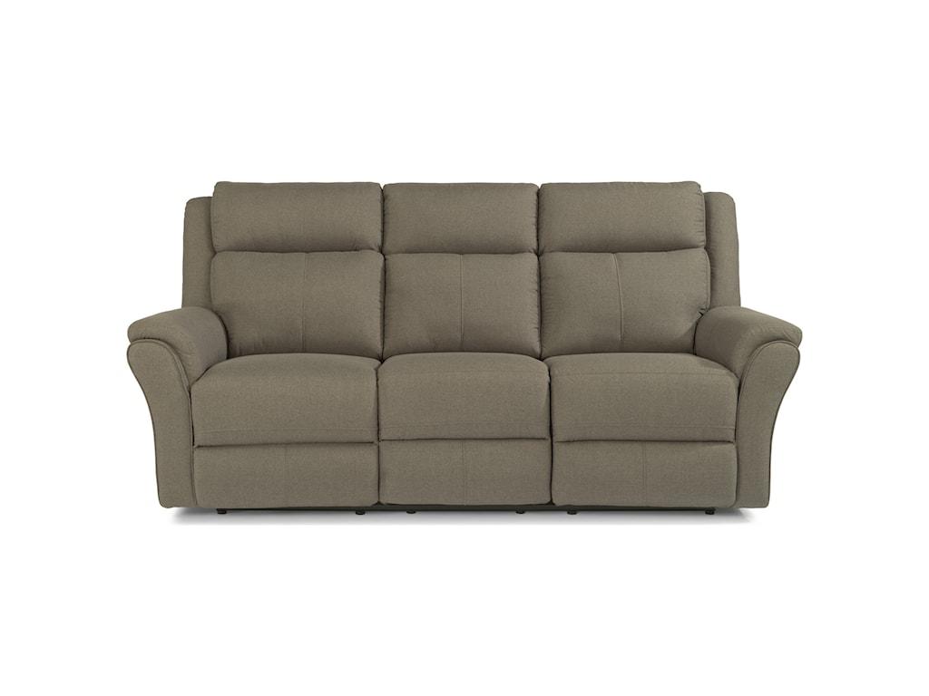 Leather flexsteel sofa sofa the honoroak for Homemakers furniture locations illinois