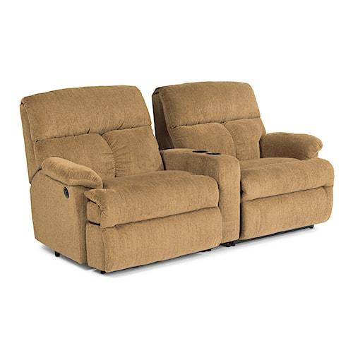 Flexsteel Furniture Uk: Flexsteel Triton Three Piece Power Reclining Sectional