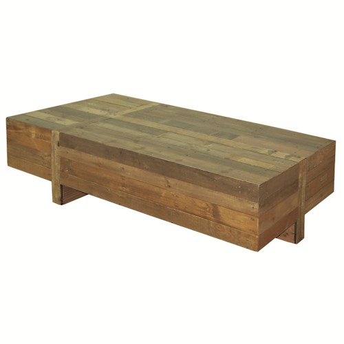 Four Hands Sierra Wynne Rectangular Coffee Table Belfort Furniture Cocktail Coffee Tables
