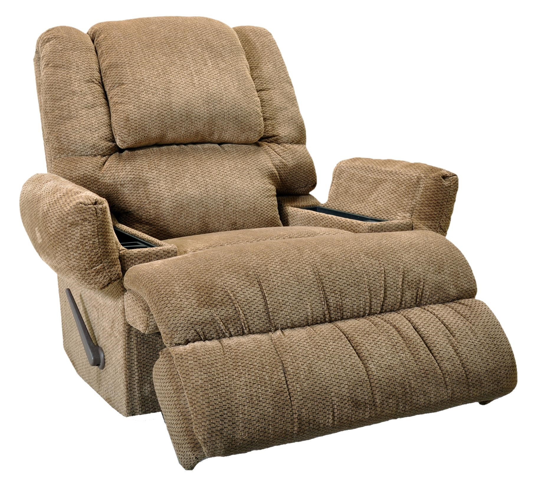 Rocker recliner trendy signature design by ashley for Affordable furniture franklin la