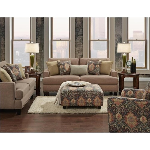 Fusion Furniture 2470 Stationary Living Room Group Colder 39 S Furniture And Appliance
