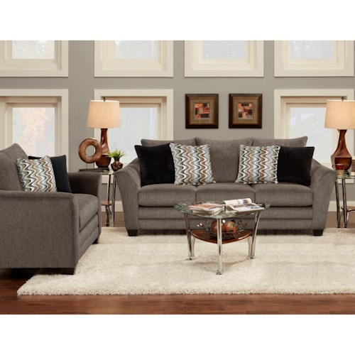Fusion Furniture 9700 Stationary Living Room Group