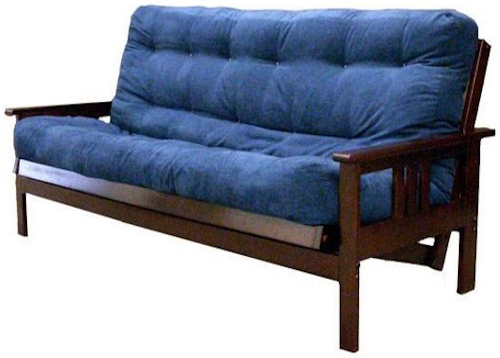 futon frames sedona full size futon w mattress rotmans. Black Bedroom Furniture Sets. Home Design Ideas
