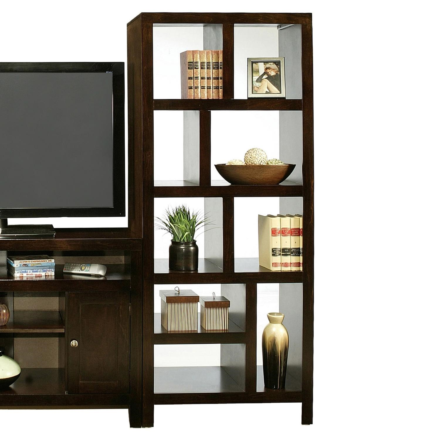 Del Mar Room Divider Tower - Belfort Furniture - Open Bookcase