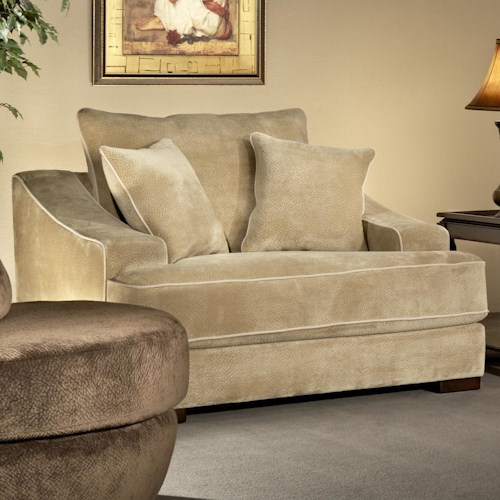 Fairmont Designs Cooper Comfortable Lounge Chair In Casual Style Boulevard Home Furnishings