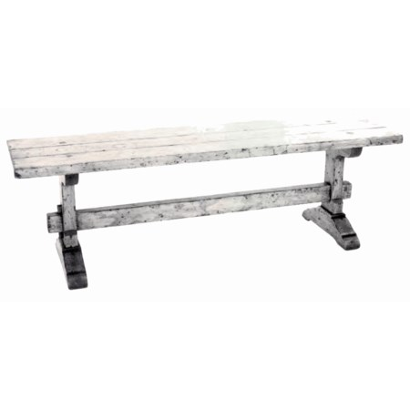 Country English Trestle Bench