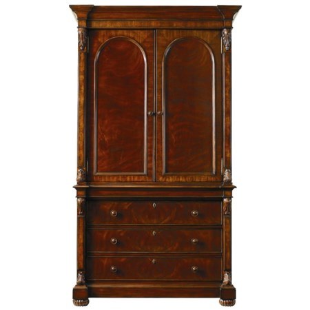 Armoire with Two Doors and Three Drawers
