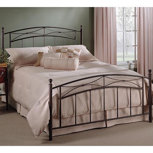 Hillsdale Metal Beds Queen Morris Bed Boulevard Home Furnishings Panel Beds