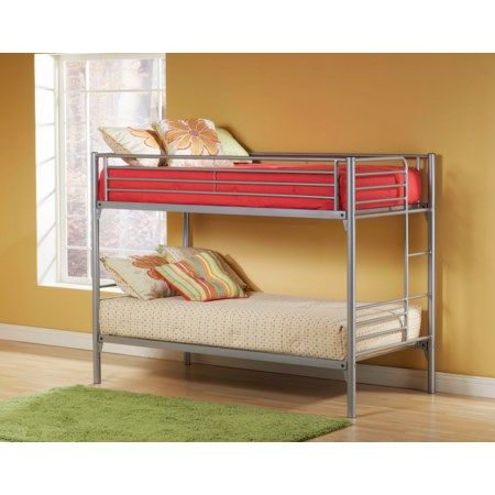 Full Bunk Bed with Modern Design