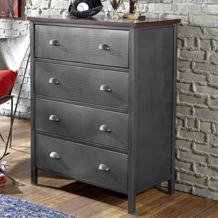Contemporary Metal Chest