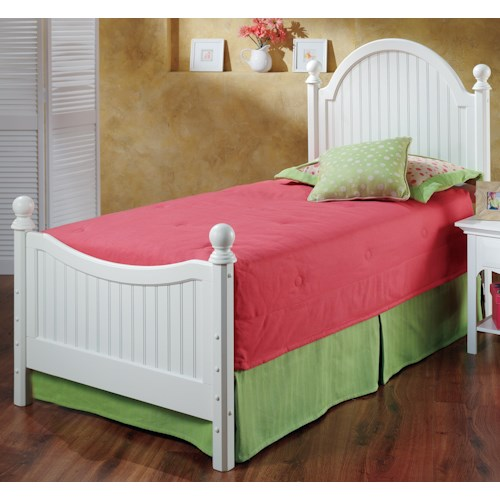 Hillsdale wood beds twin westfield bed godby home for Bedroom furniture indianapolis