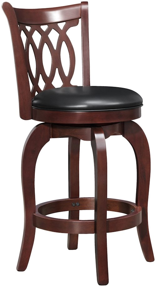 Homelegance barstools 1133 24s counter height stool for Furniture 0 percent financing
