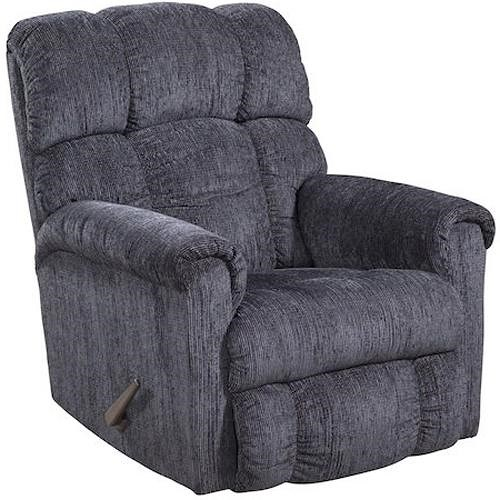 Homestretch 134 plush chaise rocker recliner pilgrim for Chaise x rocker