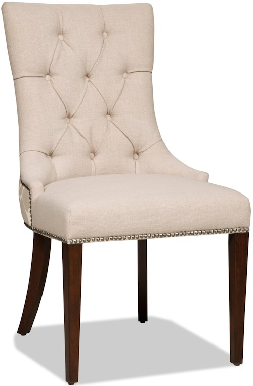 Hooker furniture dining chairs upholstered dining side for Furniture 0 down
