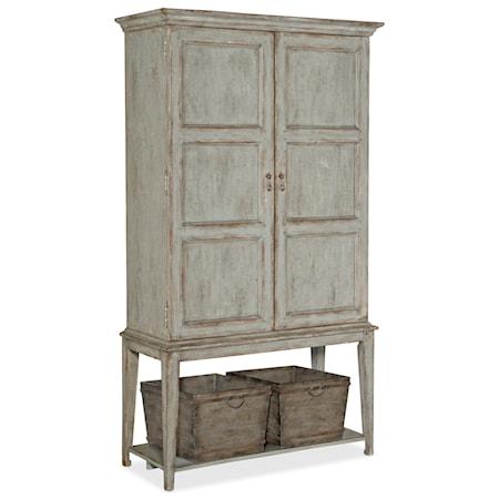 Vino della Vita Vintners 2-Door Cabinet with Wine Storage