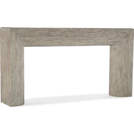 Sofa Table with Marble Top