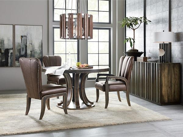casual dining room group story lee furniture. Black Bedroom Furniture Sets. Home Design Ideas