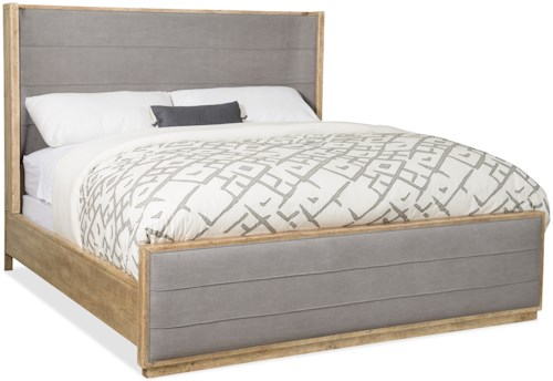 Hooker furniture american life urban elevation queen for Urban home beds