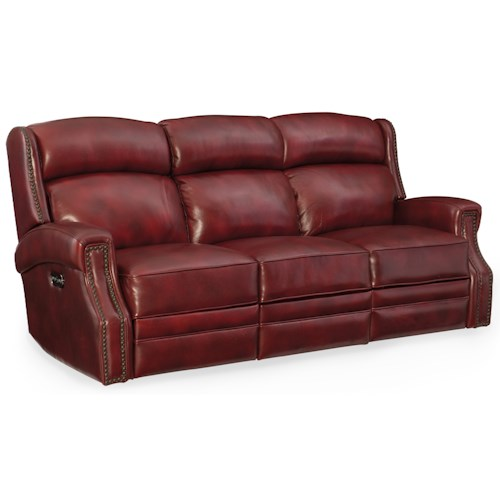 Hooker Furniture Carlisle Power Motion Sofa With Power
