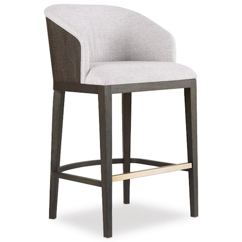 Hooker Furniture Curata Upholstered Bar Stool Stoney Creek Furniture Bar Stools Toronto