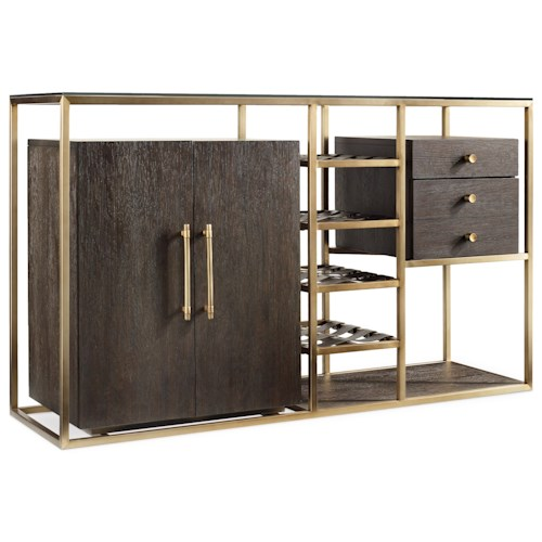 Hooker Furniture Curata Wine Server Stoney Creek Furniture Bar Cabinets Toronto Hamilton