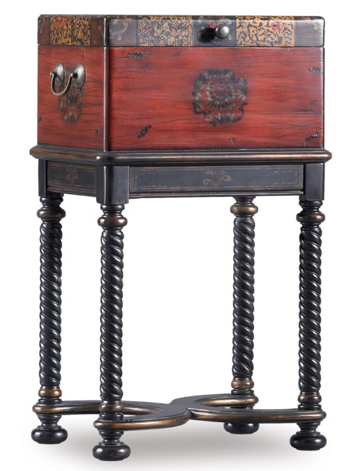 Hooker Furniture Seven Seas Dynasty Box on Stand