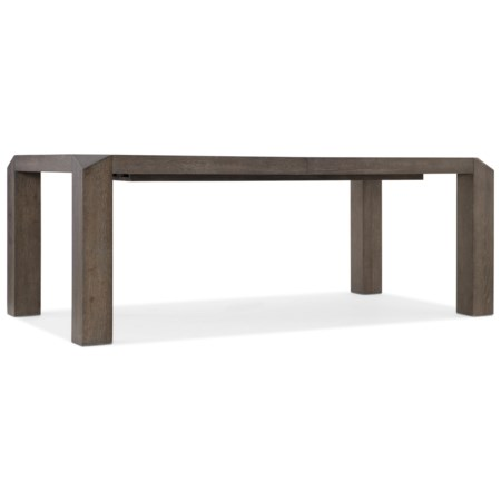 Vermeer 82in Leg Dining Table with 24in Leaf