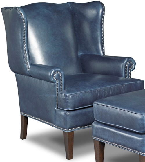 Hamilton home club chairs traditional wing back club chair for Furniture 0 percent financing