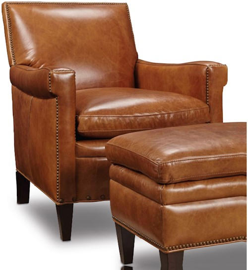 Hooker furniture club chairs traditional club chair with for Furniture 0 down