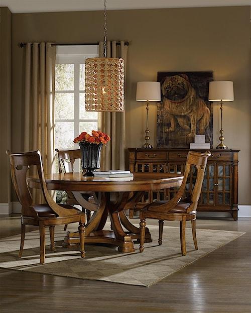 tynecastle casual dining room group sprintz furniture. Black Bedroom Furniture Sets. Home Design Ideas