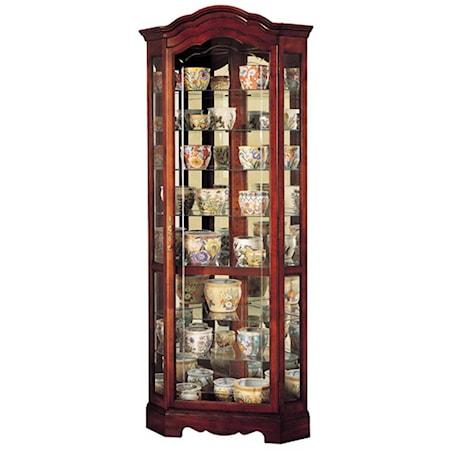 Jamestown Collectors Cabinet