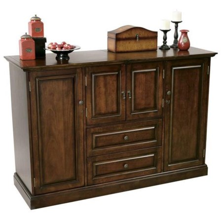 Home Wine and Bar Cabinet with Storage