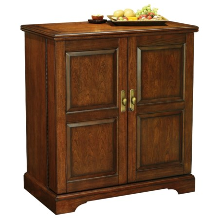 Lodi Wine & Bar Console With Hide-a-Bar