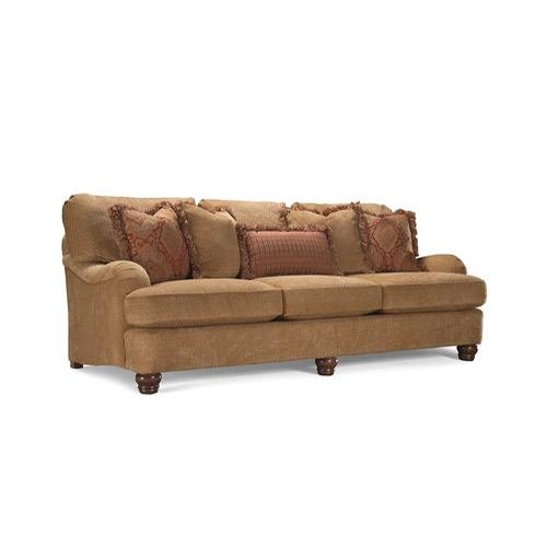 Huntington house 2081 low profile arm sofa belfort for Low height sectional sofa