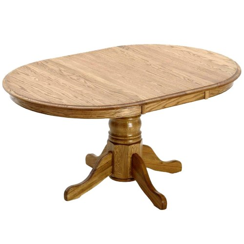 Intercon Classic Oak Formica Top Table Wayside Furniture