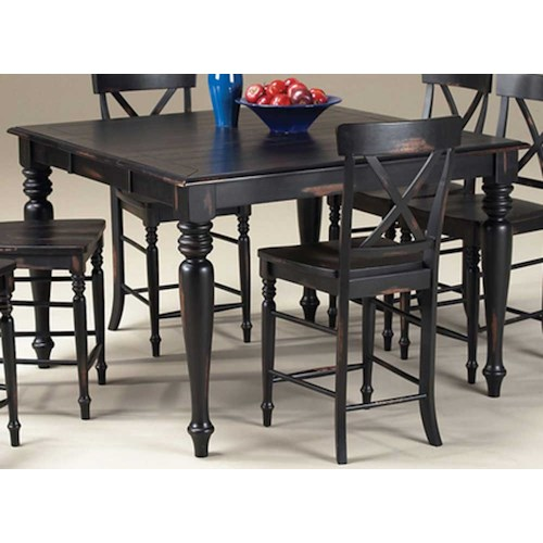 Intercon Roanoke Small Gathering Table Wilson 39 S Furniture Pub Table Bellingham Ferndale