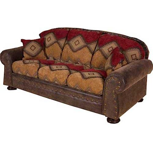 home living room furniture sofa intermountain furniture navajo sofa