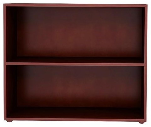 Jackpot Kids Storage Solutions Low Bookcase In Espresso