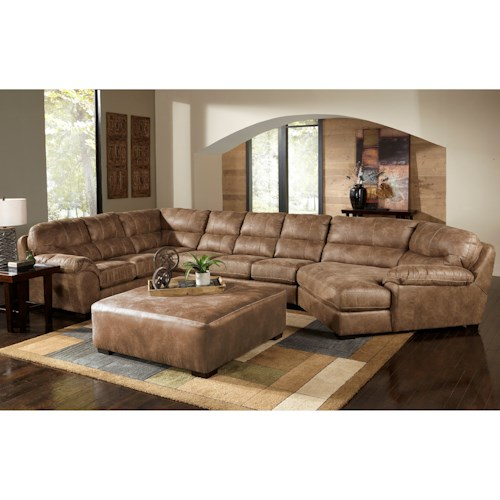 Jackson Sectional Sofa Five Seat Sectional Sofa With