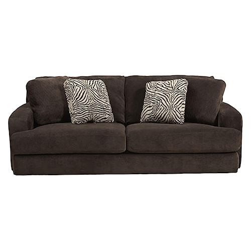 Jackson furniture palisades casual modern sofa l fish for L fish furniture