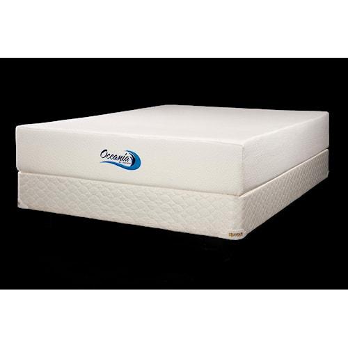 jamison bedding oceania full extra long oceania visco foam mattress design interiors mattress. Black Bedroom Furniture Sets. Home Design Ideas