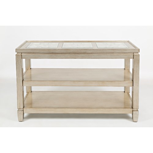Jofran casa bella sofa table pilgrim furniture city for Jofran sofa table