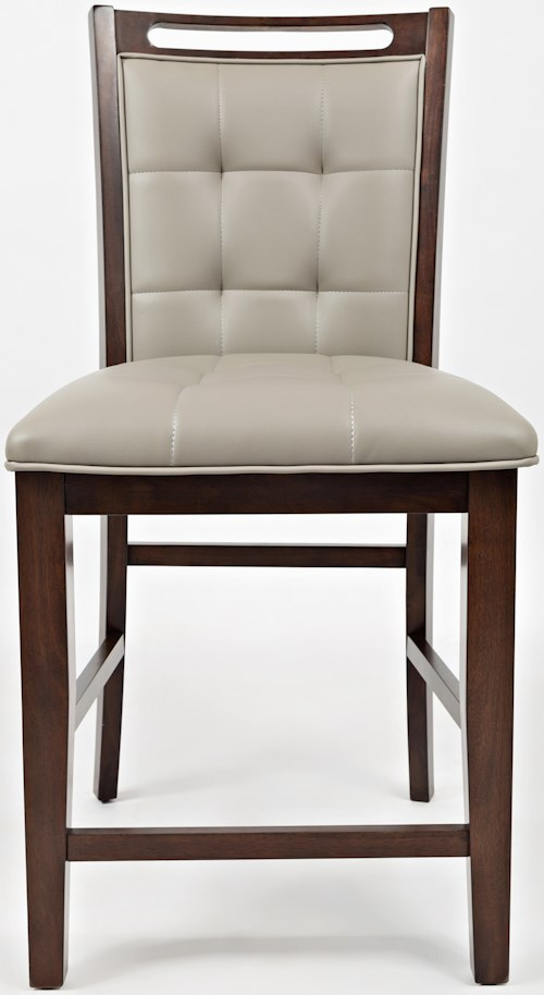 Jofran manchester upholstered counter stool furniture for Dining room tables jacksonville nc