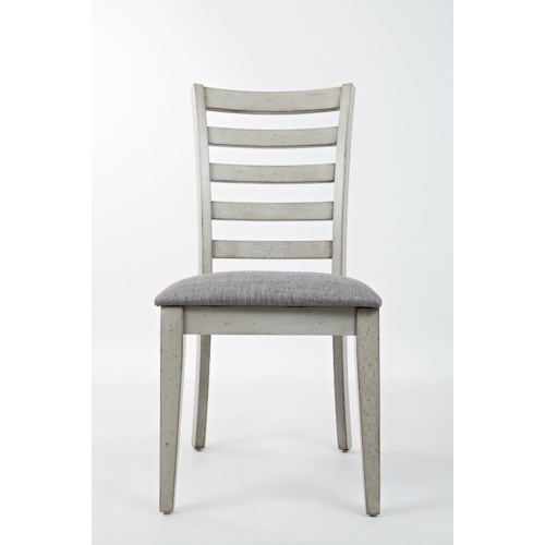 Jofran sarasota springs ladder back dining chair with for Dining room tables jacksonville nc